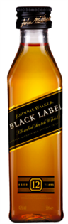Johnnie Walker Scotch Black Label 12 Year 50ml